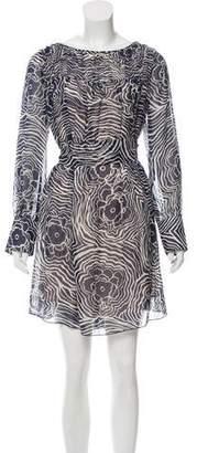 See by Chloe Printed Knee-Length Dress w/ Tags