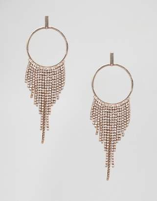 Coast Blake Crystal Tassel Earrings