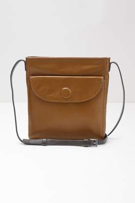 White Stuff Womens Tan Mimi Leather Crossbody Bag - Brown