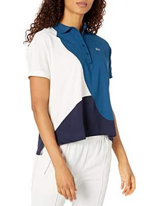 Lacoste Women's Short Sleeve Regular FIT Color Block Polo