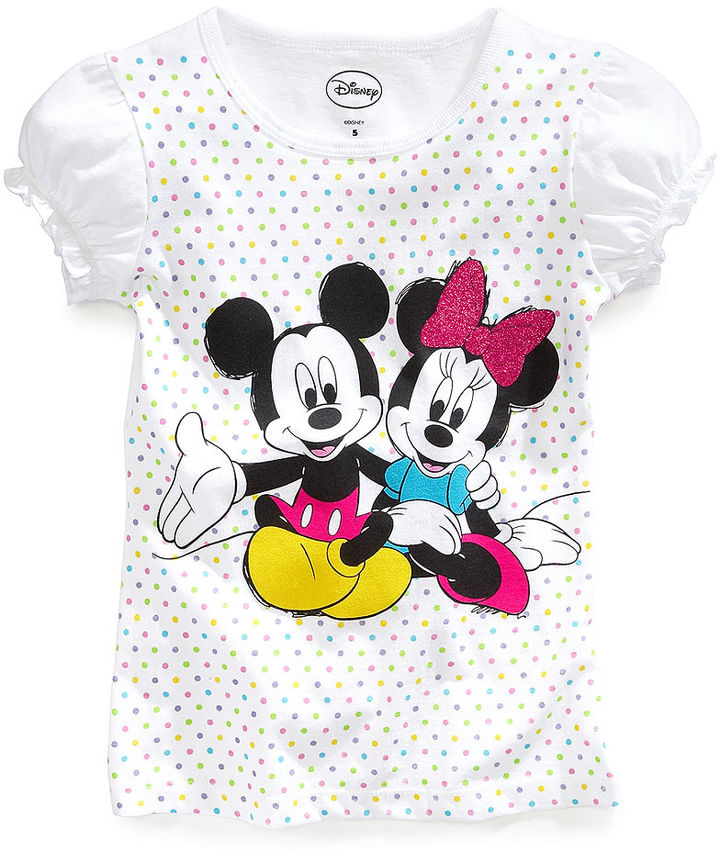 Disney Kids Shirts, Little Girls Minnie Mouse Tees