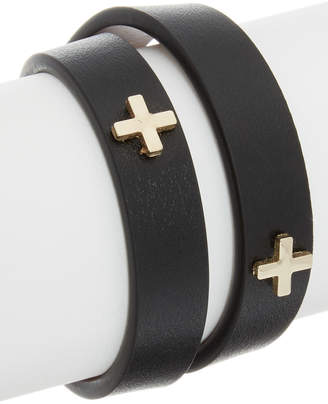 Givenchy Micro Cross Embossed Leather Choker