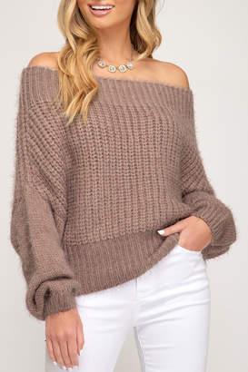 She + Sky Simply Sexy Sweater
