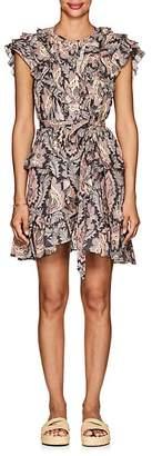 Isabel Marant Women's Xanity Floral Cotton Voile Dress
