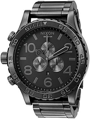 Nixon 51-30 Chrono A093 - All - 310m Water Resistant Men's Analog Fashion Watch (51mm Watch Face