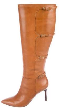 Lauren Ralph Lauren Leather Knee-High Boots