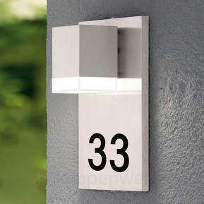 LED-Hausnummernleuchte Pardela 1