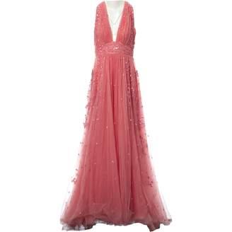 ZUHAIR MURAD Pink Silk Dresses