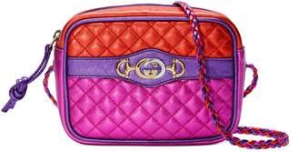 Gucci Mini laminated leather bag