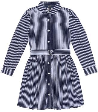 Polo Ralph Lauren Belted cotton dress
