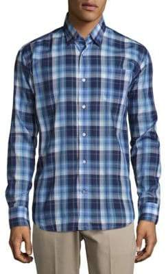 Robert Talbott Anders Casual Classic-Fit Sportshirt