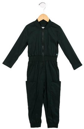 Christian Dior Girls' Long Sleeve Zip-Up Jumpsuit $85 thestylecure.com