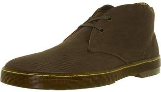 Dr. Martens Men's Mayport Canvas Olive Ankle-High Canvas Boot - 13M