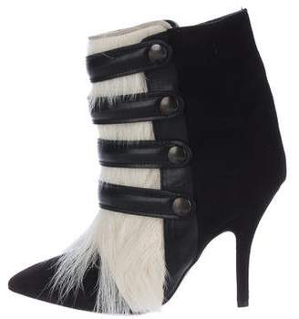 Isabel Marant Goat Hair Ankle Boots w/ Tags