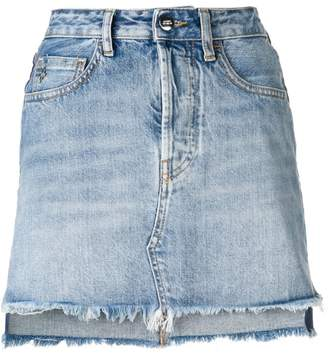 Marcelo Burlon County of Milan vintage denim skirt 32b7ba0ab