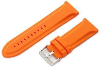 Hadley-Roma Men's MS3377RAG280 28-mm Genuine Silicone Diver Sport Watch Strap