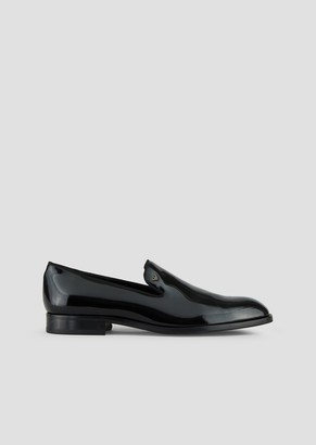 c52ca576162 Emporio Armani Loafer In Patent Leather