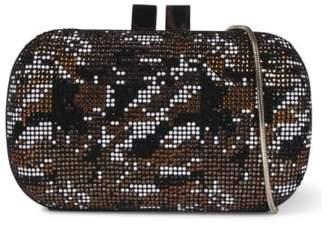 Lola Cruz Lawton Multicoloured Embellished Clutch Bag