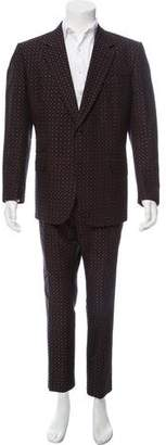 Gucci Pattern Print Two-Piece Suit