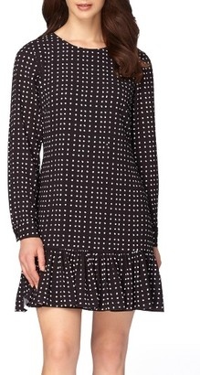 Women's Tahari Polka Dot Dress $128 thestylecure.com