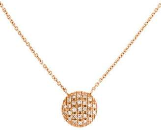 Ralph Lauren Dana Rebecca Designs 14K Diamond Joy Pendant Necklace