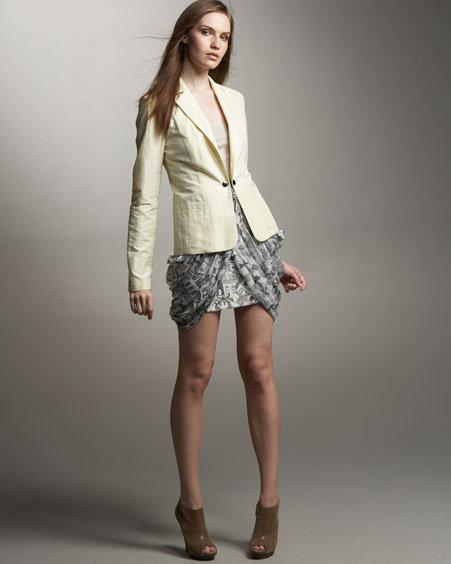 Jason Wu Kyle Drape Skirt