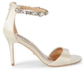 Badgley Mischka Sindy Bejeweled d'Orsay Sandals