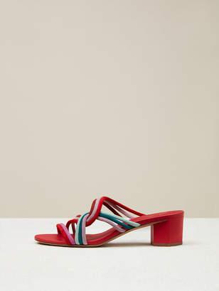 Diane von Furstenberg Jada Suede Sandals