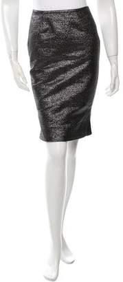 Jonathan Simkhai Metallic Pencil Skirt w/ Tags