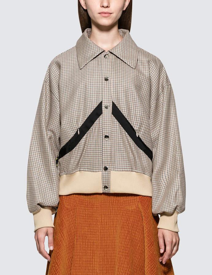 Check Short Jacket