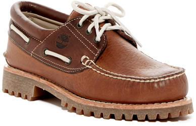 Timberland Timberland Authentic 3-Eye Boat Shoe - Wide Width