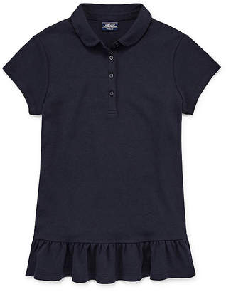 Izod EXCLUSIVE Exclusive Short Sleeve Tunic Polo Girls 4-18 and Plus