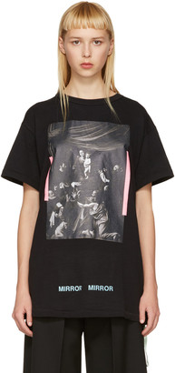Off-White Black Caravaggio T-Shirt $300 thestylecure.com