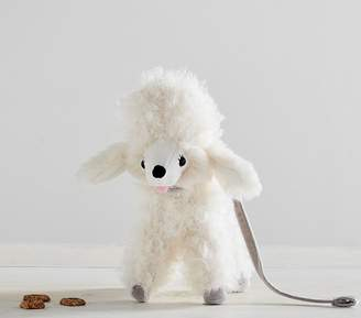 Pottery Barn Kids Small Faux-Fur Plush Poodle