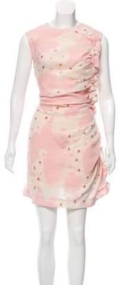 Simone Rocha Gathered Matelassé Dress w/ Tags