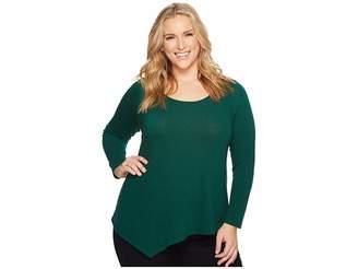 Karen Kane Plus Plus Size Asymmetric Hem Sweater Women's Sweater