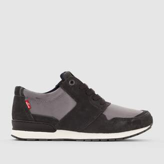 Levi's NY Runner Tab Dual Material Trainers