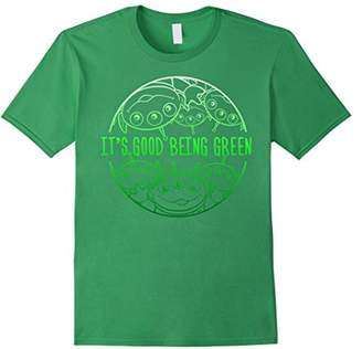 Disney Pixar Toy Story Pizza Aliens Good Being Green T-Shirt