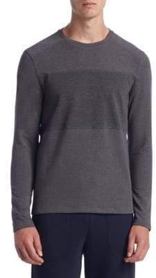 Saks Fifth Avenue COLLECTION Mixed Media Sweatshirt