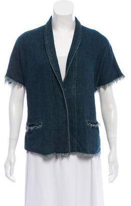 Simon Miller Short Sleeve Denim Jacket