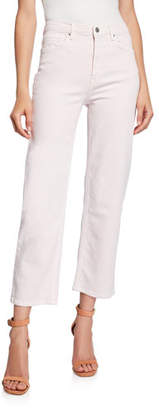 Rebecca Minkoff Dominica Cropped Straight-Leg Pants