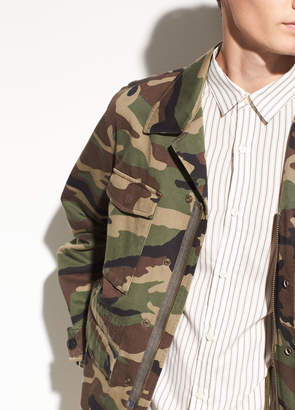 Vince Cotton Military Jacket