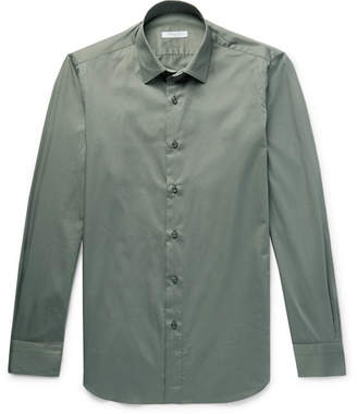 Boglioli Slim-Fit Cotton Oxford Shirt