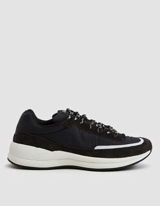 A.P.C. Running Sneaker in Noir