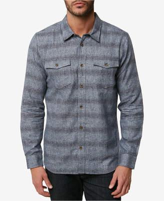 O'Neill Men Covington Striped Flannel Shirt