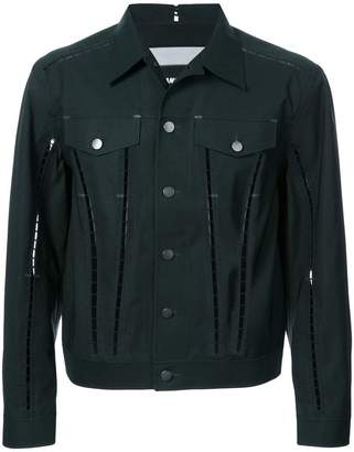 Yang Li embellished chest pocket jacket