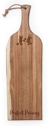 Picnic Time Pincic Time Disney Minnie & Mickey Mouse Acacia Wood Serving Board