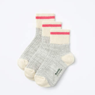 Roots Kids Park Ankle Sock 3 Pack