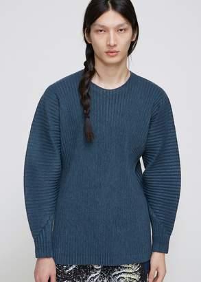 Issey Miyake Homme Plisse Crew Sweatshirt