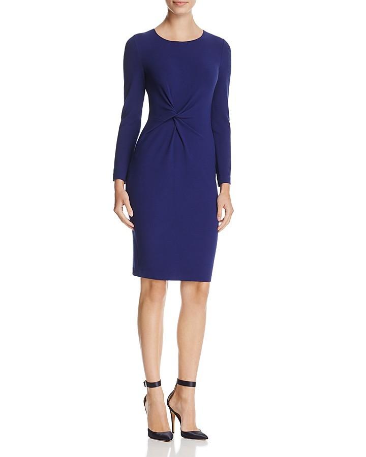 Armani Collezioni Twist-Detail Dress
